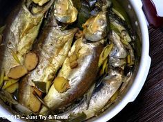 Just Try & Taste: Homemade Bandeng Presto Asian Recipes, Ethnic Recipes, Indonesian Food, Pressure Cooking, Seafood, Pork, Fish, Homemade, Easy Meals