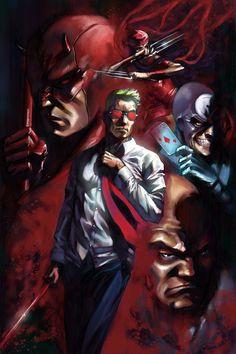 Matt Murdock [Daredevil] by Alex Ross