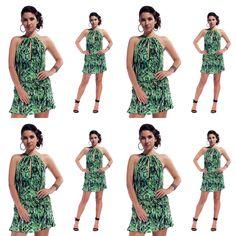 #vestido curto estampado #ateen #rent4you