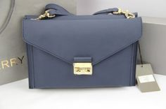 2014 Discount Mulberry Kensal shoulder bag in blue calf leather