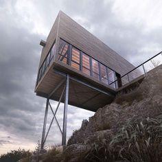 "1,259 gilla-markeringar, 11 kommentarer - DesignWanted (@designwanted) på Instagram: ""Would you live here? ✏️Cliff House by MacKay-Lyons Sweetapple Halifax, Nova Scotia, Canada  ____…"""
