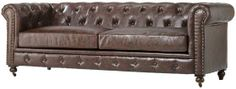 Darrin 89 Leather Sofa Jcpenney Chair Obsession Pinterest Leather Sofas Sofas And Leather