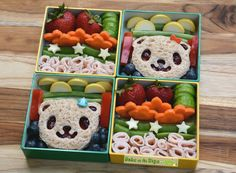 2 Lunches in 10 minutes! - Back to School Bear Bento Lunch