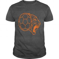 Leopard Handball Ball Logo 2 Long Sleeve Shirts
