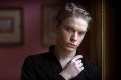 Freddie Fox, very much a section of fandoms Draco Malfoy, not quite mine. I'm very particular about what my Draco looks like.