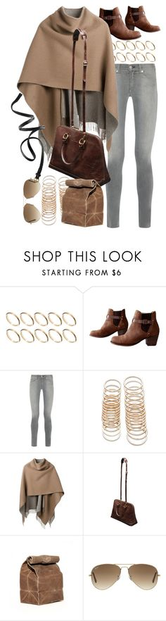"""""""Untitled #8337"""" by nikka-phillips ❤ liked on Polyvore featuring ASOS, rag & bone, Forever 21, Ray-Ban and H&M"""