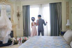 Tuxedo: Asos - http://www.stylemepretty.com/portfolio/asos-2 Wedding Dress: JLM Couture, Inc - http://www.stylemepretty.com/portfolio/jlm-couture Photography: Katch Studios - http://www.stylemepretty.com/portfolio/katch-studios   Read More on SMP: http://www.stylemepretty.com/2015/12/03/blogger-bride-extra-petite-vintage-inspired-wedding-at-the-boston-public-library/