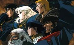 Image result for record of lodoss war anime
