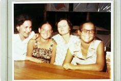Phyllis, Judy, and Patty Houston, mother and two daughters. This photo was taken on Nov 17th. They are all interviewed on the Ryan tape from the 17th. All three died on Nov 18th.