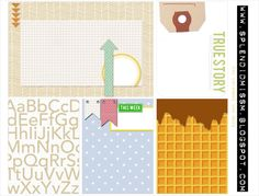Free Journal Cards for Project Life from The Splendidly Imperfect Miss M {on Facebook - free Scribd account needed}