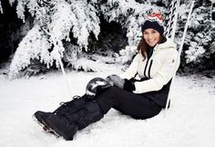 Pippa Middleton wears a Moncler quilted down coat. #moncler #pippamiddleton. Shop Moncler at lineafashion.com