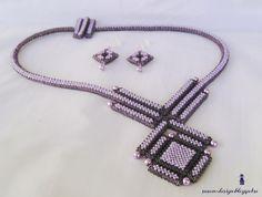 Mina smycken: Lila CRAW