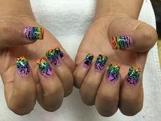 Ombré nails art