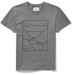 Mountain Print Cotton-Jersey T-Shirt http://bit.ly/1N2m6qS