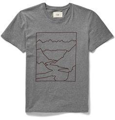 Mountain Print Cotton-Jersey T-Shirt http://bit.ly/1N2m6qS