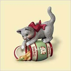 2006 Mischievous Kittens-8th-Treat Jar  Hallmark Ornament at Ornament Mall