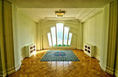 Art Deco Window Treatment
