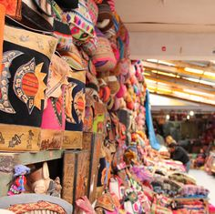 Cusco was the capital of the Inca Empire and is still one of the largest and busiest cities in Peru. There are a plethora of famous markets that you will not want to miss. The Centro de Textiles Tradicionales del Cusco is a non-profit organization that aims to preserve the traditional Peruvian techniques of weaving and textiles, as well as supporting local communities. The organization has a museum, where you learn about the history of weaving, and a store, which sells quality textiles.