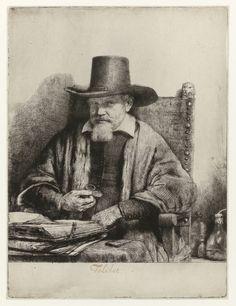 Arnold Tholinx (1654-1658, Rijksmuseum, Amsterdam) de Rembrandt van Rijn (1606-1669)