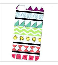 techno tribal iphone 4/4s case iphone 4 cover by icasecouture, $16.00