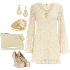 Little Lace Dress, created by yjmunson.polyvore.com