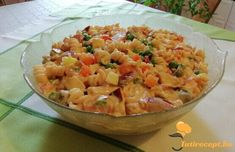 Ketchup, Pasta Salad, Macaroni And Cheese, Ethnic Recipes, Food, Red Peppers, Crab Pasta Salad, Mac And Cheese, Essen