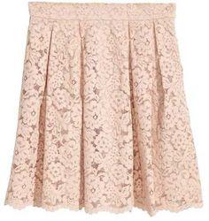 H&M Short Lace Skirt