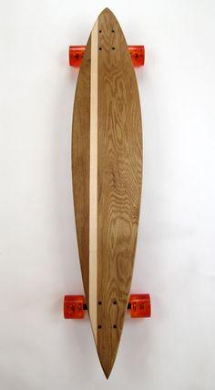 Loki Longboards - man, I wish it wasn't snowing like crazy outside right now. I wanna longboard...