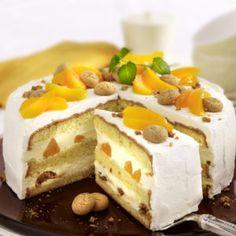Pfirsich-Amarettini-Torte Cheesecake, Easy, Desserts, Food, Peach, Pies, Bakken, Tailgate Desserts, Deserts