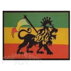 Rasta Lion Tapestry