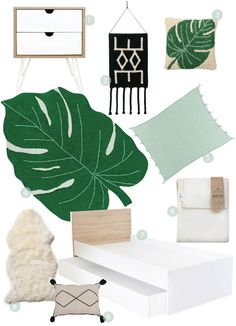Greenery for fresh and crisp looks Little Monkeys, Scandi Style, Get The Look, Greenery, Crisp, Kids Room, Clever, Tapestry, Contemporary