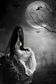ideas for gothic fantasy art mystic witches Dark Gothic Art, Gothic Fantasy Art, Dark Art, Gothic Artwork, Gothic Horror, Horror Art, Dark Beauty, Gothic Beauty, Arte Obscura