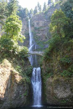 "Multnomah Falls, Oregon  ""Thee days in Portland"""