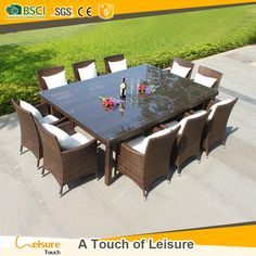 Annabelle Outdoor Garden Furniture All Weather Wicker Rattan 10 Seater Dining Furniture Table Chairs Buy Outdoor Garden Furniture Dining Furniture