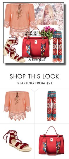"""""""// RoseGal // 52/90"""" by nura-akane ❤ liked on Polyvore"""