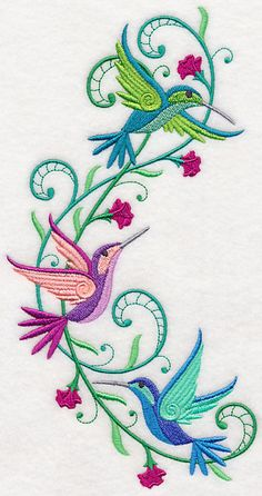 Machine Embroidery Designs at Embroidery Library! - New This Week Free Machine Embroidery Designs, Hand Embroidery Patterns, Embroidery Applique, Cross Stitch Embroidery, Pot Pourri, Bordado Floral, Quilled Creations, Fabric Painting, Sewing Crafts