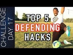This video breaks down the top 5 defending hacks that could be the difference between a win and a loss. Soccer Practice, Soccer Drills, Soccer Tips, Soccer Games, Soccer Workouts, Football Training Program, Soccer Training, Training Programs, Train Activities