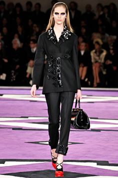 Oldie but goodie :) Prada Fall 2012 Ready-to-Wear