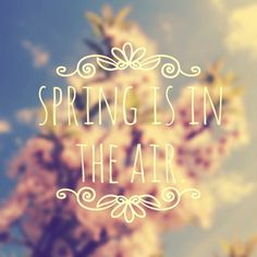 betype:  Spring Is In The Air