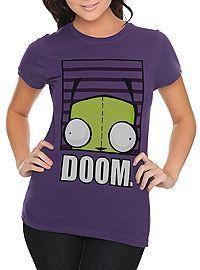 Invader Zim Gir Doom Girls T-Shirt