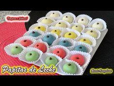 PAPITAS DE LECHE - BOCADITOS DE LECHE, bombones deliciosos, receta venezolana - YouTube
