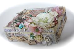 Chic Scrapbook Designs by Limor Webber: Altered Cigar Box and Mini - Fairy Rhymes Collection