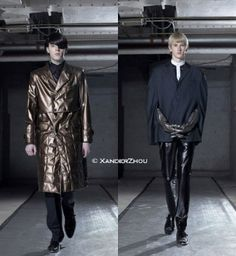 Xander Zhou's First Menswear Collection in 2007