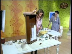 VIDEO @manidilara come recuperare un vecchio mobile - YouTube Chalk Paint, Diy Home Decor, Decoupage, Projects To Try, Shabby Chic, Video, Desk, Painting, Youtube