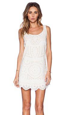 #kasnewyork #sanjana #white #embroidered #dress #summer #revolveclothing  Shop the look on Revolve Clothing: http://www.revolveclothing.fr/kas-new-york-sanjana-mini-dress-in-white/dp/KASR-WD6/