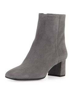 Suede+Square-Toe+Ankle+Boot+by+Prada+at+Bergdorf+Goodman.
