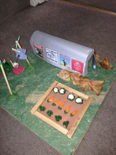 WW2 Anderson shelter model