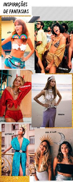 9de5a8be4 it-girl - fantasias - carnaval - verão - street-style - inspirações de