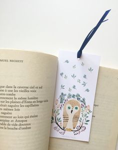 Illustration bookmarks watercolour bookmarks di Abstractales