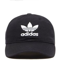 adidas Originals Trefoil Classic Cap | JD Sports ❤ liked on Polyvore featuring accessories, hats, adidas originals, adidas originals hat, sport caps, sports caps hats and cap hats